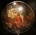 Polidoro da caravaggio, rotella da parata con assedio di cartagena e episodio di diana atteone, 1525-27 ca. (palazzo madama, to) 01.jpg