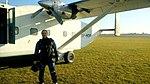 Polish skydiver, Short SC-7 -3M-100 Skyvan SP-HOP, Piotrków Trybunalski 2018.10.07.jpg