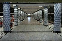 Politehnica station, Bucharest metro.jpg