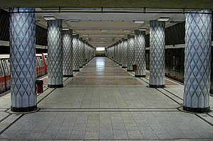 Politehnica station, Bucharest metro.jpg
