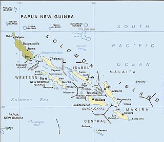 New Georgia Sound strait in the New Georgia Islands region that runs approximately southeast–northwest through the middle of the Solomon Islands in the Southern Pacific Ocean and Melanesia