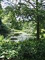 Pond in Powis Castle gardens - geograph.org.uk - 1121074.jpg