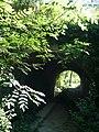 Pont de l'ancienne ligne Aubagne-Fuveau sur le Vallat Gréasque Bouches-du-Rhône (France).JPG
