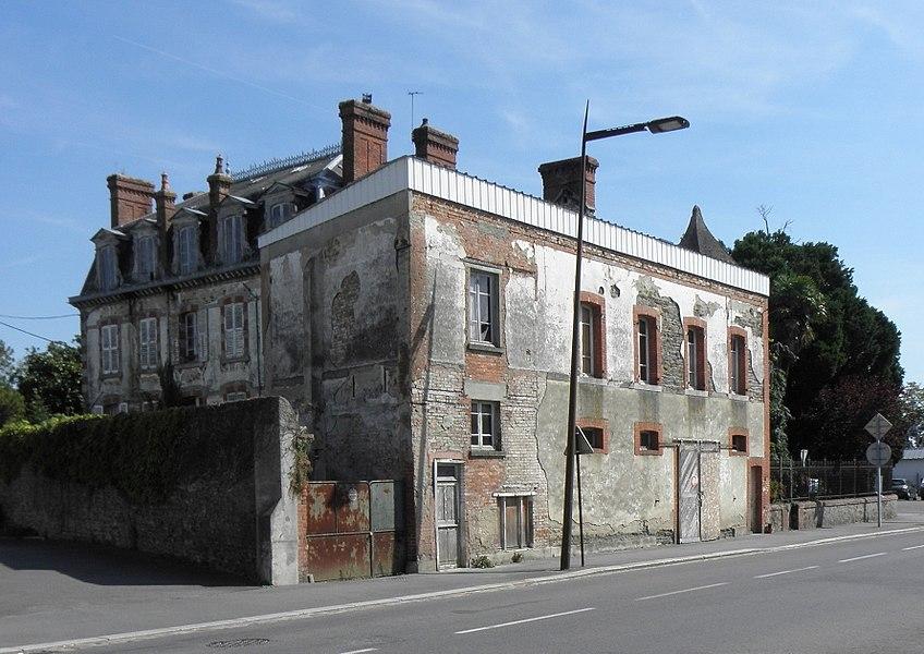 Villa Bailleul, sise à Pontorson (50). Les communs.
