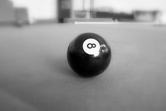 Kelly pool - An 8 ball