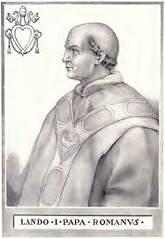 Pope Lando - Image: Pope Lando Illustration