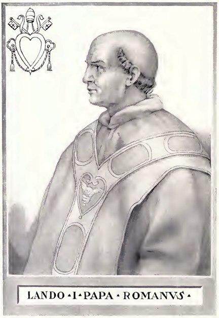 Pope Lando Illustration