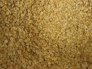 Porridge - Porridge oats before cooking