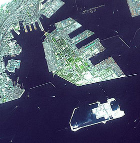 Image satellite de l'Île du Port