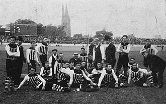 1910 SAFL season - 34th SAFL season Pictured above is the 1910 SAFL premiers Port Adelaide.