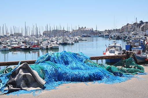 Port of Saint-Vaast- la Hougue (France)