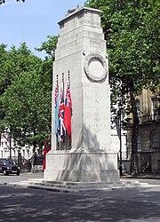 The Cenotaph, London.