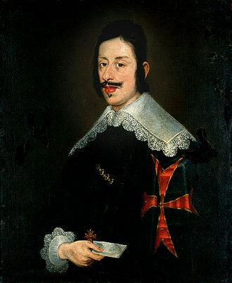 Ferdinando II de' Medici, Grand Duke of Tuscany - Ferdinando II de' Medici in Coronation Robes (circle of Justus Sustermans).
