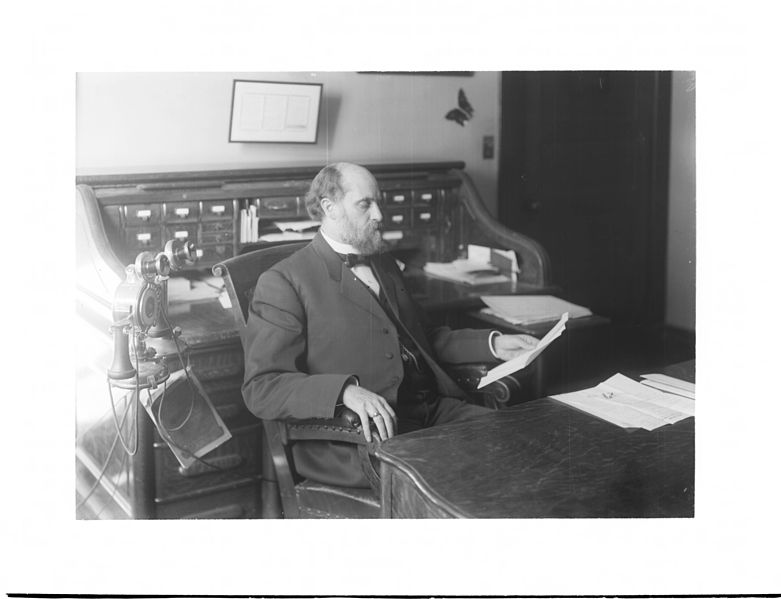 File:Portrait of James A. Foshay (1856-1914) at his desk, ca.1902 (CHS-3763).jpg