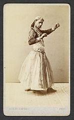 Portrait of male dancer in female costume - Délié & Béchard.jpg