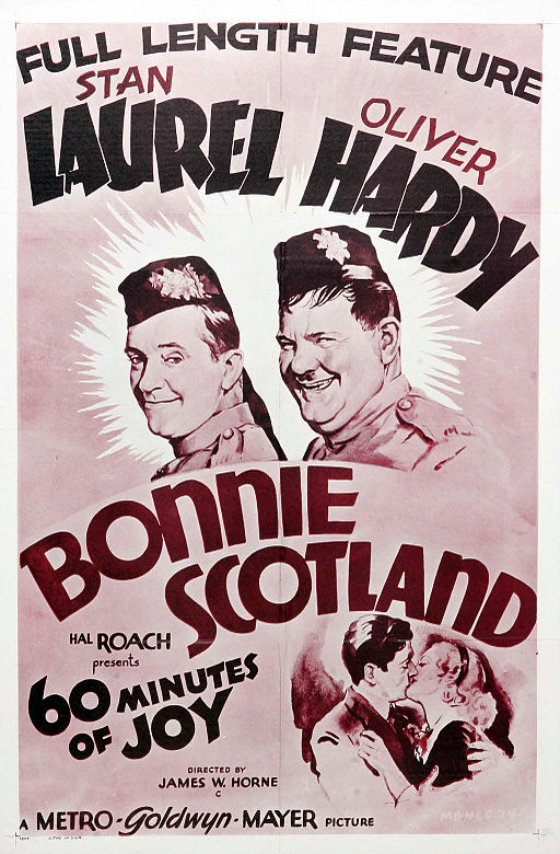 Laurel and Hardy Poster - Bonnie Scotland 11