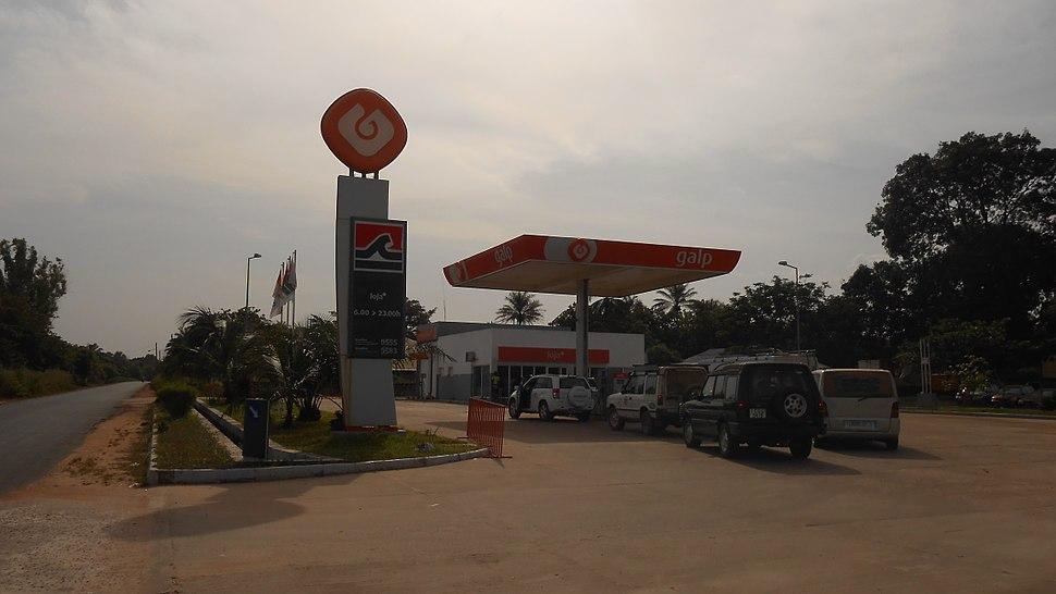Posto Galp em São Domingos, Guiné (1)