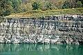 Pottsville Group (Pennsylvanian; Dupler Pit, East Fultonham, Muskingum County, Ohio, USA) 8 (45022055801).jpg