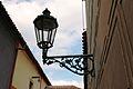 Prague Praha 2014 Holmstad Golden Lane - Den gyldne gaten - gatelykt gatelys street lamp.JPG