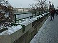Praha, Malá strana, Karlův most, zábradlí.JPG