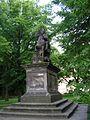 Praha Vysehrad socha sv. Vaclava 31052005.JPG