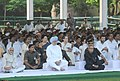 Pranab Mukherjee, the Vice President, Shri Mohd. Hamid Ansari, the Prime Minister, Dr. Manmohan Singh, the Speaker, Lok Sabha, Smt. Meira Kumar, the Chairperson, National Advisory Council.jpg