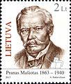 Pranas Masiotas 2013 Lithuanian stamp.jpg