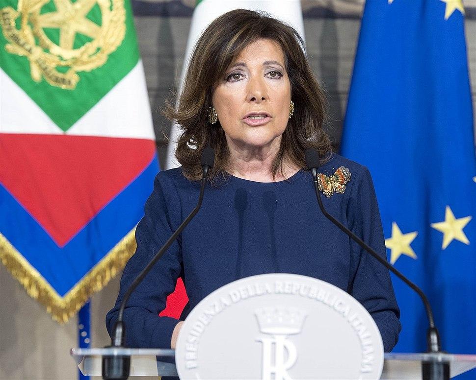 Presidente Alberti Casellati Quirinale
