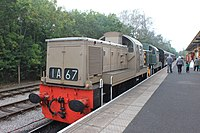 Preston Riverside station - D9537+D9539.JPG