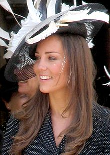 Kate Middleton en 2008