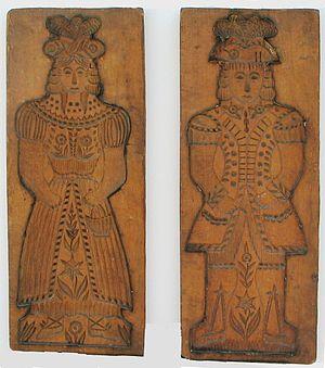 Aachener Printen - 18th century Printen cast