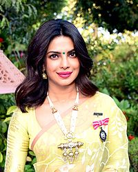 Priyanka Chopra's press conference after being conferred with the Padma Shri (05).jpg
