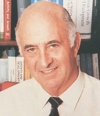 John Bloomfield (academic) - Portrait of Professor Bloomfield (1982)