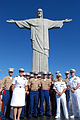 Promotion ceremony at Christ the Redeemer statue 140808-N-TN557-193.jpg