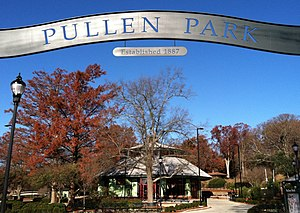 Pullen Park - Image: Pullen Park entrance 2011