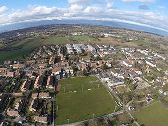 Puplinge - Puplinge, aerial view