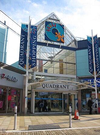 Quadrant Shopping Centre - Union street entrance to Quadrant Shopping Centre