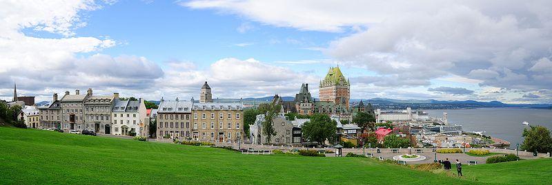 File:Quebec - QC - Blick auf die Altstadt.jpg