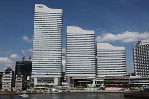 JGC Corporation - JGC is headquartered in the Queen's Tower A building (left) in Yokohama's Minato Mirai 21 area