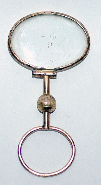 Monocle - 19th-century gold-filled quizzing glass