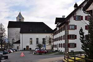 Fahr monastery wikivividly regensberg family rti reformed church the church of the former rti abbey fandeluxe Images