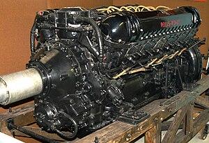 Rolls-Royce R - A late-production Rolls-Royce Griffon