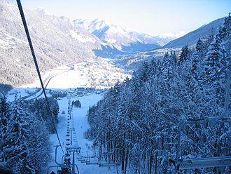 Kranjska Gora Ski Resort - Vitranc 1 lift in December 2005