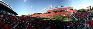 High Point Solutions Stadium - Image: RU Football Stadium