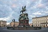RUS-2016-SPB-Monument to Nicholas I of Russia.jpg