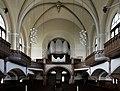 Radebeul - Lutherkirche, Ansicht Innenraum zur Orgel.jpg