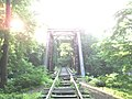 Rahway Valley RailRoad Bridge over the Rahway River - panoramio.jpg