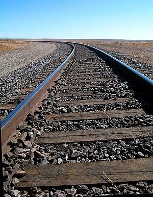 Railway Tie Association - Treated railroad ties in track in Colorado, USA.