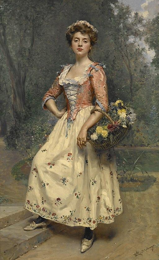 Raimundo de Madrazo y Garreta - Spring Beauty - 81.408 - Indianapolis Museum of Art