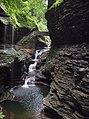 Rainbow Falls Watkins Glen State Park New York.jpg